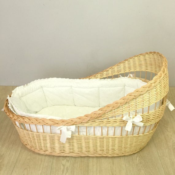 Moses basket one of the first things for your baby
