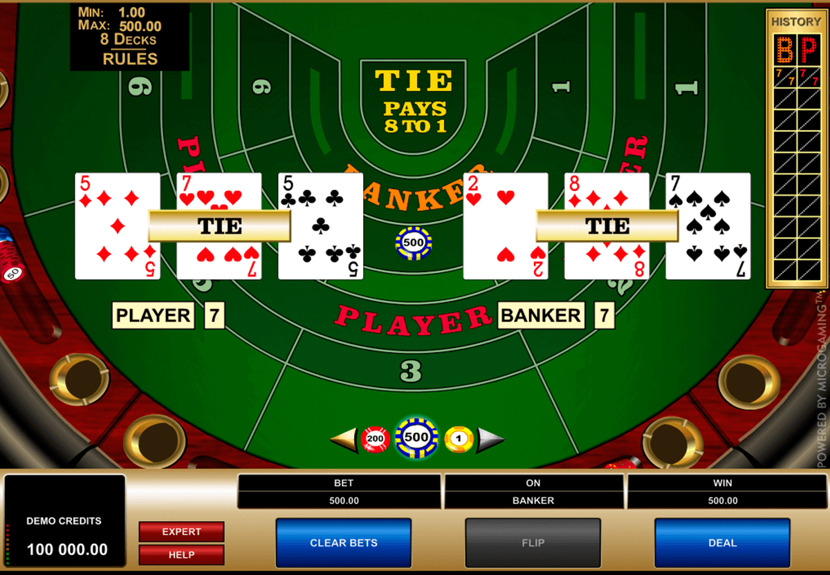 How could you confirm the reliability of the online casino offering baccarat?